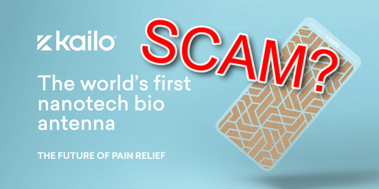 Kailo Pain Relief Looks Like a Clear Scam